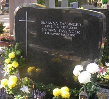 Johann und Susanna Tassinger