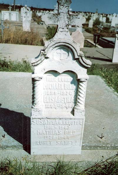 Bild Michael und Elisabetha; Bild Mathias und Susanna geb. Kreuter