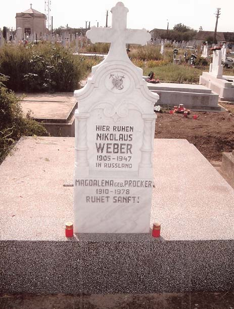 Nikolaus Weber - Magdalena geb. Procker