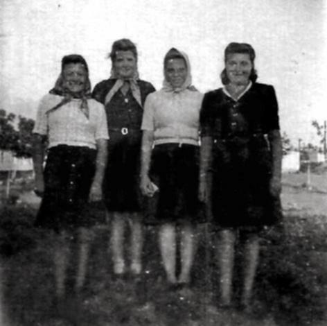 heimatvertriebene 1948 im lager pirna