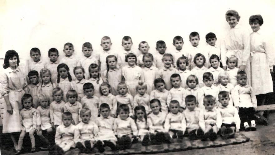Juli 1962, Kindergarten Staatswirtschaft