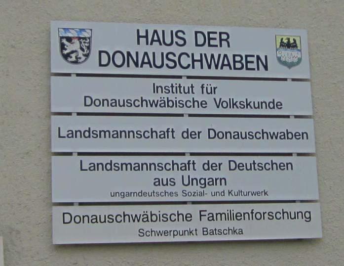 Haus der Donauschwaben in München