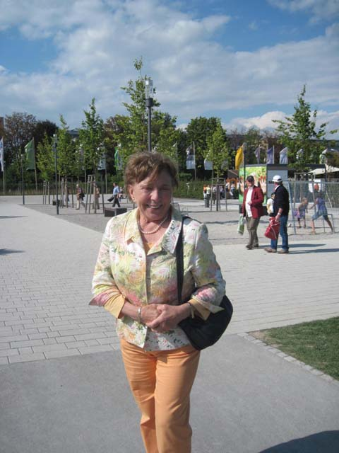 Buchautorin Olga Farca