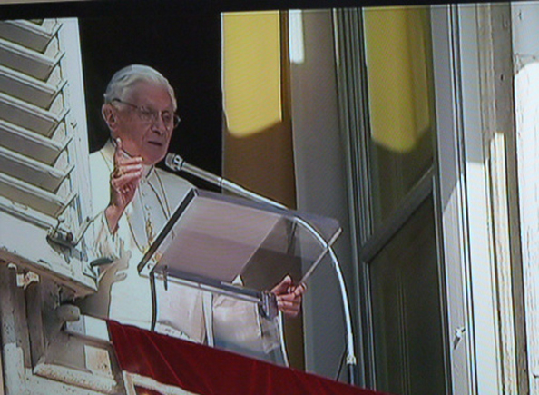 Papst in Rom