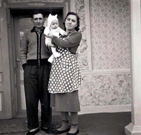 Anna und Balzer Stoiadin mit Fredy