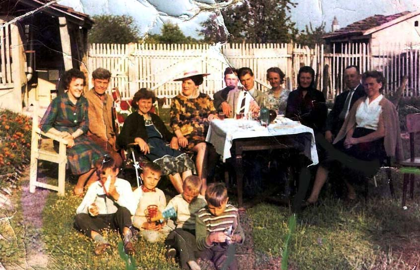 Verwandte im Hof - Ebner Maria