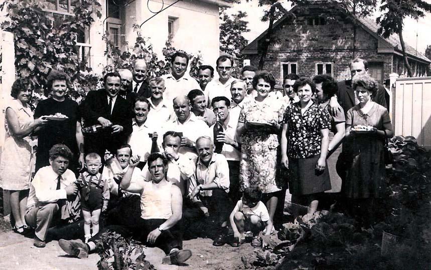 Verwandte bei der Kerwei