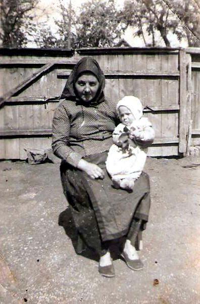 Berta Ebner - das erste Enkelkind