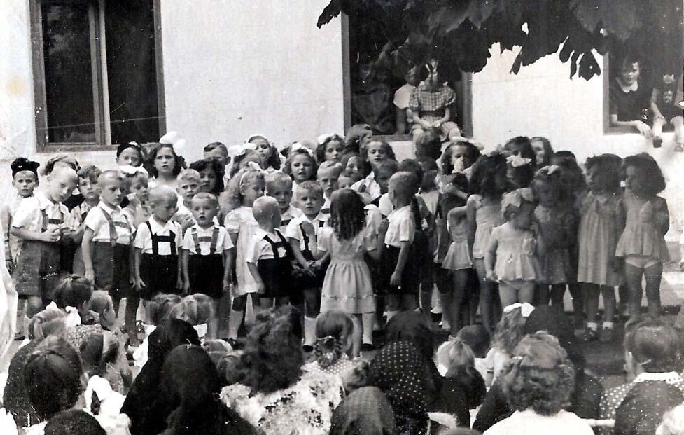 Programm im Kindergarten