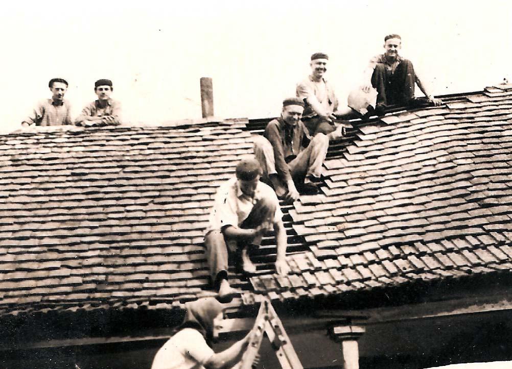 Dachdecker bei Tannenberger