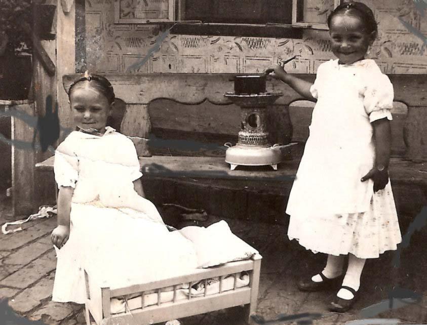 Kochen im Freien - Geschwister Scheuer Magdalena und Katharina
