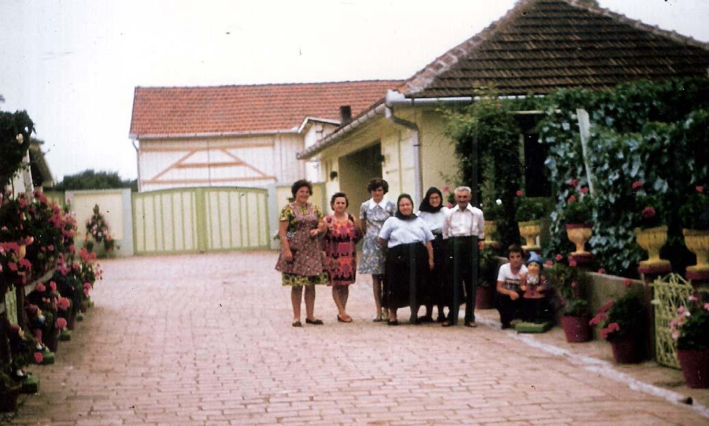 Sommer im Hof bei Fizigoi im Lothringen