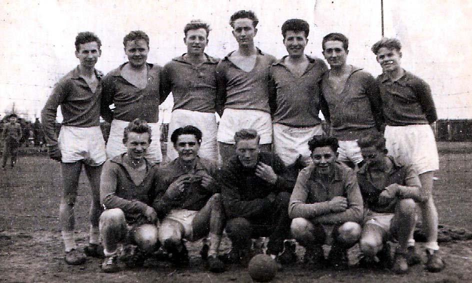Handballmanschaft 1959