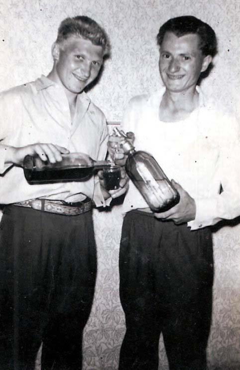 Wein und Sodawasser - Kilzer Nikolaus und Kilzer Peter