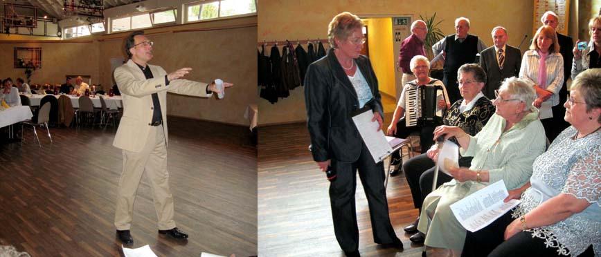 Dirigent Mathias Bild, Solo Anne Loris, Susanne Junginger