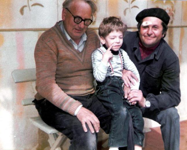 Opa Rosar, Frank und Onkel Nikolaus