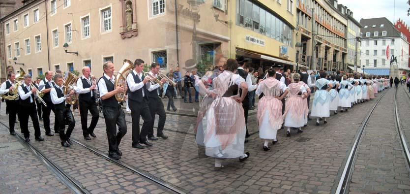 Die Eisenbahnermusikanten Freiburg