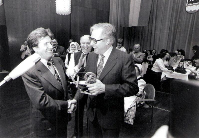 Ministerpräsident Bernhard Vogel 1979