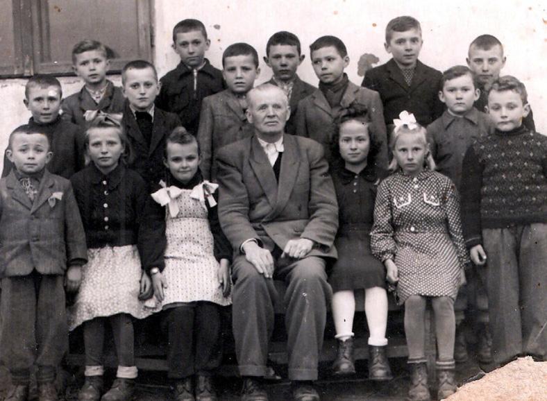 Lesch Franz, Baragan-Schulklasse
